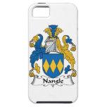 Escudo de la familia de Nangle iPhone 5 Case-Mate Cárcasas