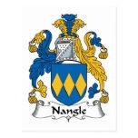 Escudo de la familia de Nangle Postales