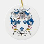 Escudo de la familia de Napoles Ornamentos Para Reyes Magos