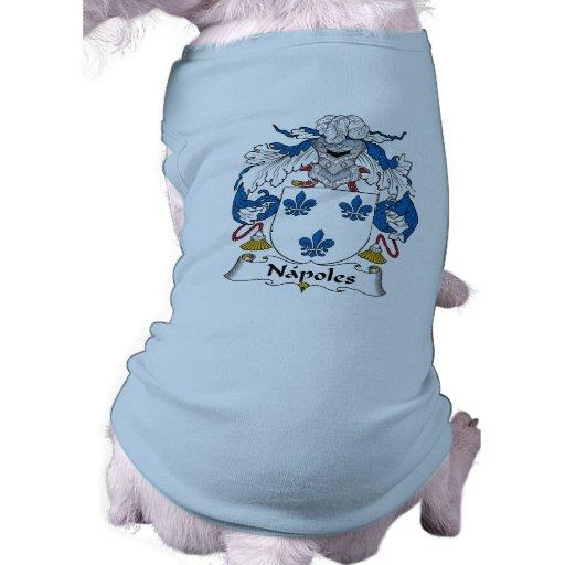 Escudo de la familia de Napoles Prenda Mascota