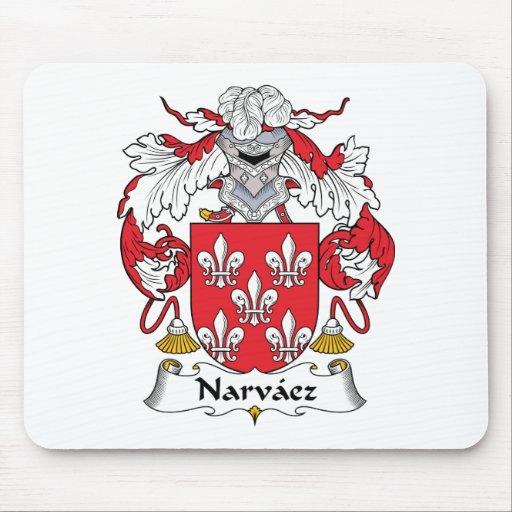 Escudo de la familia de Narvaez Tapetes De Ratón