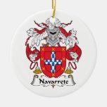 Escudo de la familia de Narvarrete Adornos