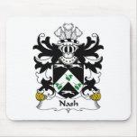 Escudo de la familia de Nash Alfombrilla De Raton