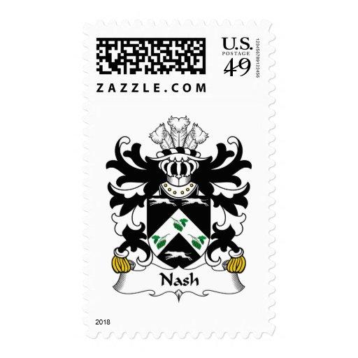 Escudo de la familia de Nash Envio