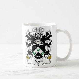 Escudo de la familia de Nash Tazas De Café