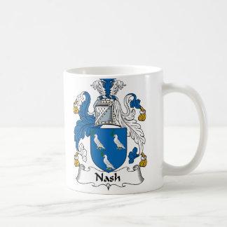 Escudo de la familia de Nash Taza