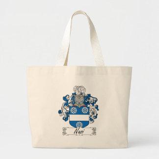 Escudo de la familia de Nasi Bolsas Lienzo