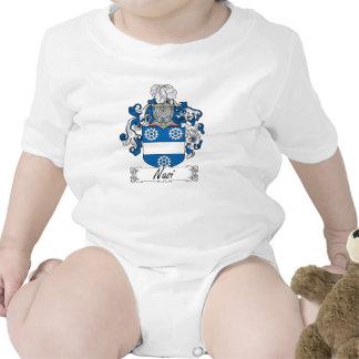 Escudo de la familia de Nasi Camiseta