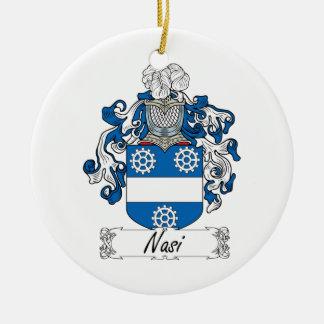 Escudo de la familia de Nasi Ornamentos Para Reyes Magos