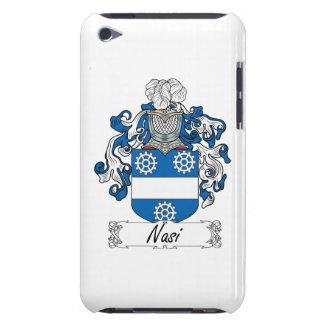 Escudo de la familia de Nasi Barely There iPod Fundas
