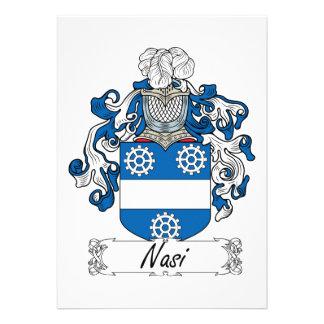 Escudo de la familia de Nasi Anuncios Personalizados