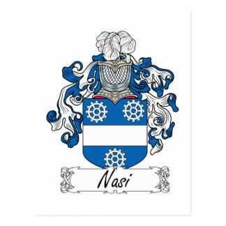 Escudo de la familia de Nasi Postal
