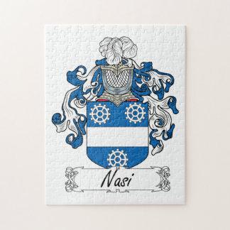 Escudo de la familia de Nasi Rompecabezas