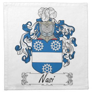 Escudo de la familia de Nasi Servilleta