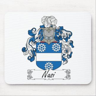 Escudo de la familia de Nasi Tapetes De Raton
