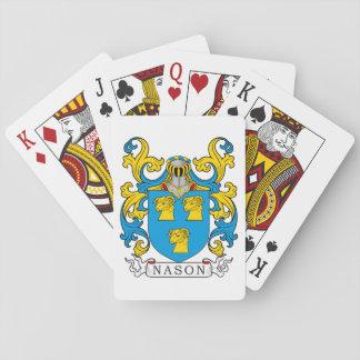 Escudo de la familia de Nason Baraja De Cartas