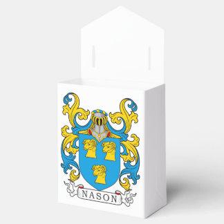 Escudo de la familia de Nason Paquetes De Regalo Para Fiestas