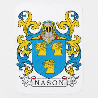 Escudo de la familia de Nason Mantas De Bebé