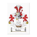 Escudo de la familia de Nauta Impresión En Lona
