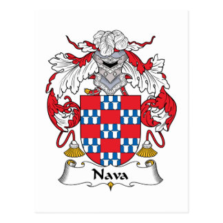 Escudo de la familia de Nava Postales
