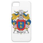 Escudo de la familia de Navarro iPhone 5 Protectores