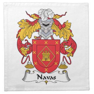 Escudo de la familia de Navas Servilleta