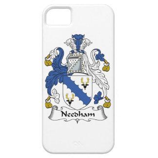 Escudo de la familia de Needham iPhone 5 Protectores