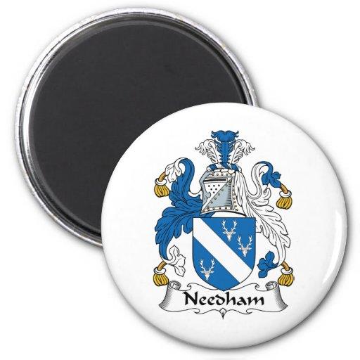 Escudo de la familia de Needham Iman De Nevera