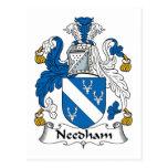 Escudo de la familia de Needham Postal