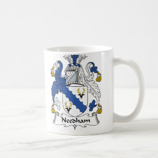 Escudo de la familia de Needham Tazas De Café