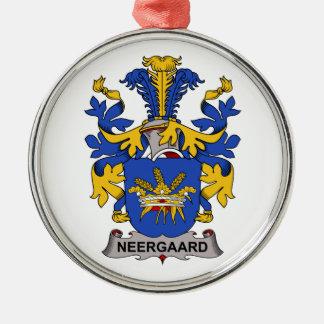 Escudo de la familia de Neergaard Ornamentos De Navidad