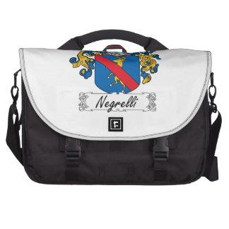 Escudo de la familia de Negrelli Bolsas Para Portatil