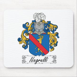 Escudo de la familia de Negrelli Tapetes De Ratones