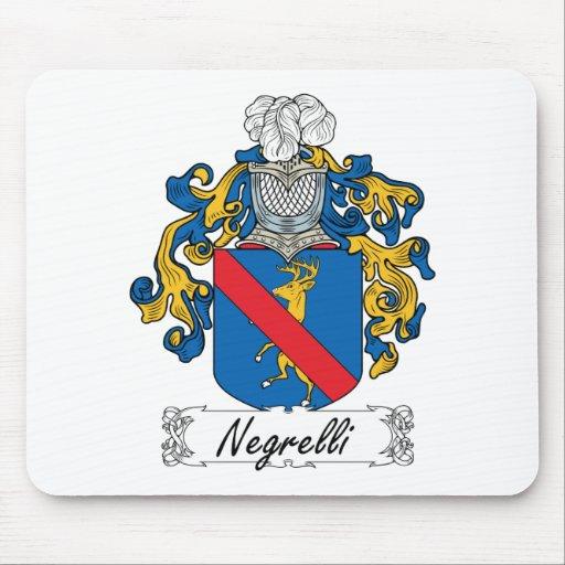 Escudo de la familia de Negrelli Alfombrilla De Ratón
