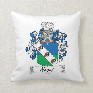 Escudo de la familia de Negri Almohadas