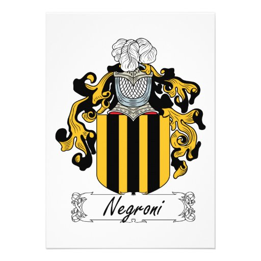 Escudo de la familia de Negroni Comunicados