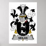 Escudo de la familia de Neilan Impresiones