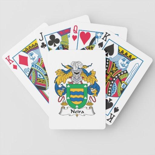 Escudo de la familia de Neira Baraja Cartas De Poker