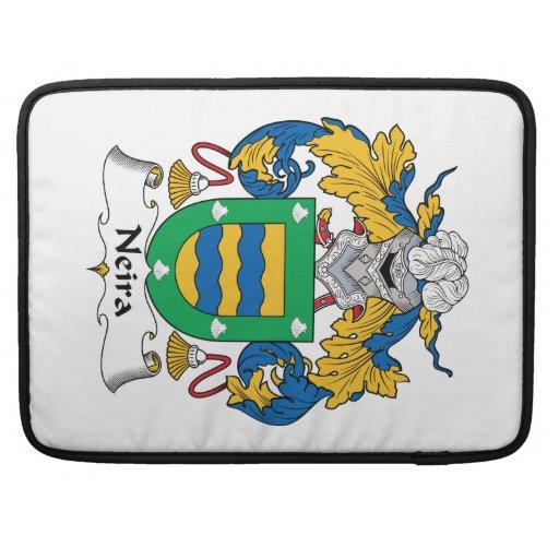 Escudo de la familia de Neira Funda Macbook Pro