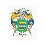 Escudo de la familia de Neira Lona Envuelta Para Galerías
