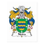 Escudo de la familia de Neira Postal