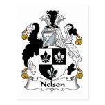 Escudo de la familia de Nelson Postal