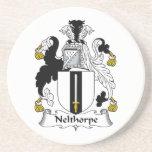 Escudo de la familia de Nelthorpe Posavasos Diseño