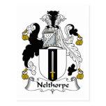 Escudo de la familia de Nelthorpe Postales