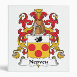 Escudo de la familia de Nepveu