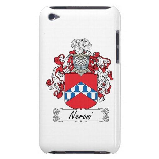 Escudo de la familia de Neroni Case-Mate iPod Touch Protector