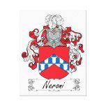 Escudo de la familia de Neroni Lona Estirada Galerías