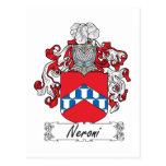 Escudo de la familia de Neroni Postal