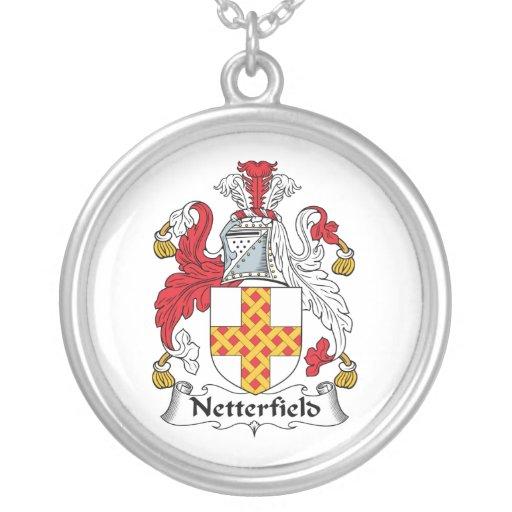 Escudo de la familia de Netterfield Colgante Redondo