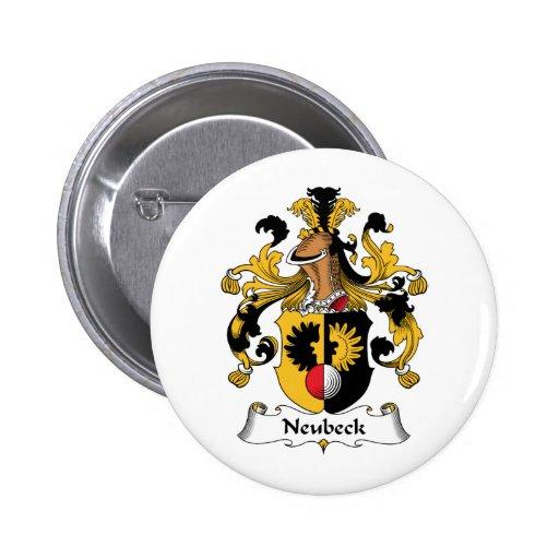 Escudo de la familia de Neubeck Pins